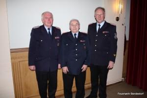 v.li. Heino Wobbe, Günther Rabeler und Dieter Reymers (KBM)